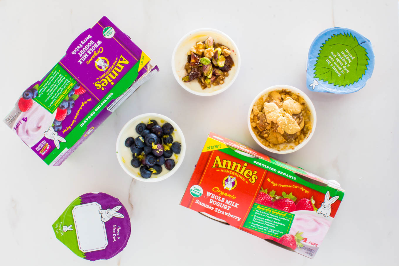 Annie's whole milk yogurt | immaEATthat.com #sponsored