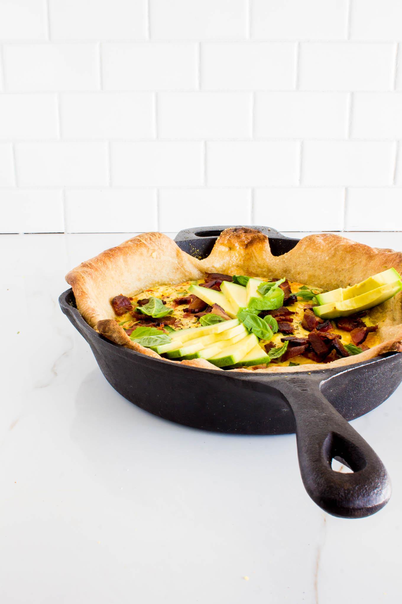 pizza quiche | immaEATthat.com