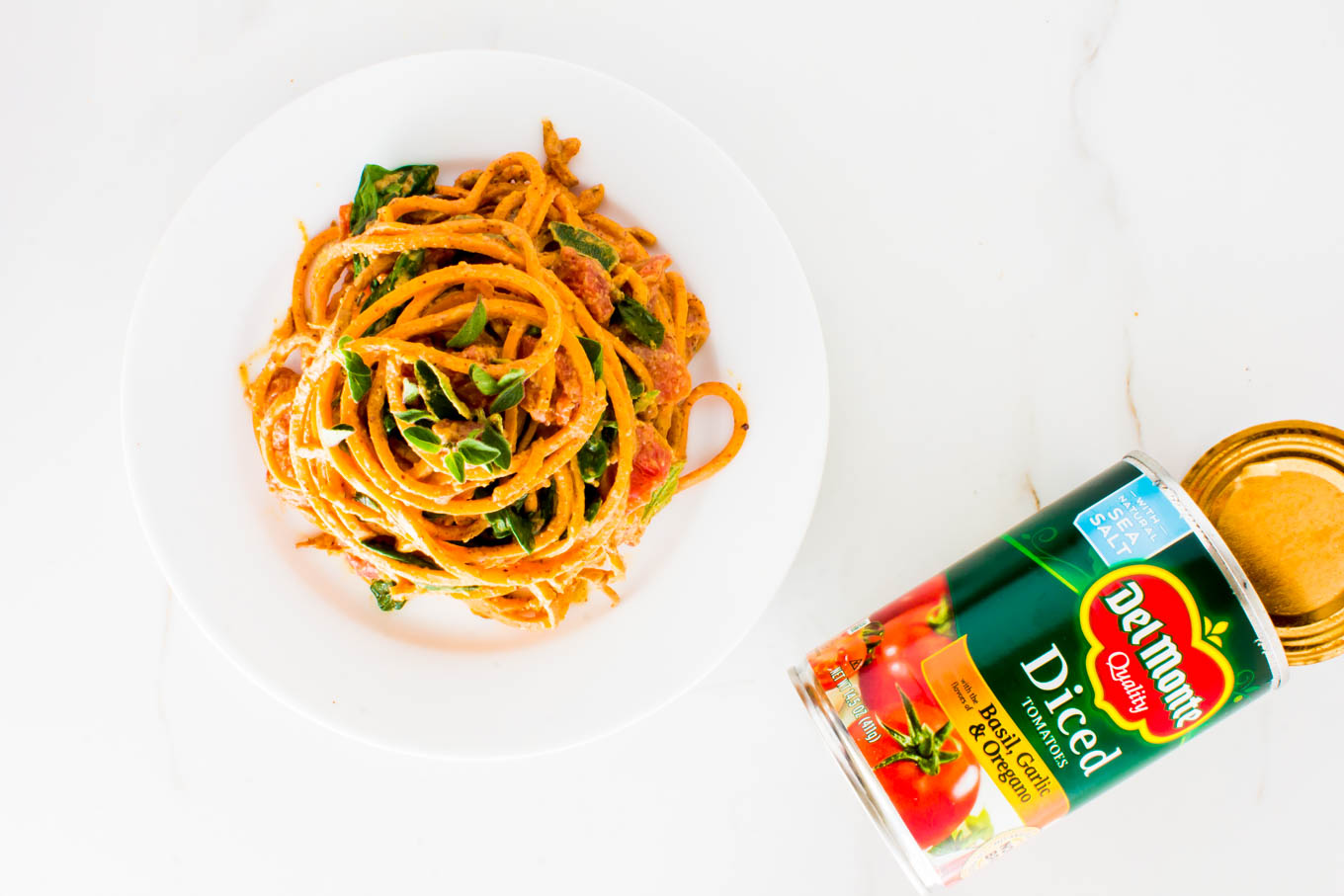 almond butter sweet potato pasta