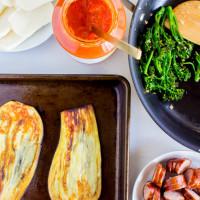 eggplant pizza | immaEATthat.com