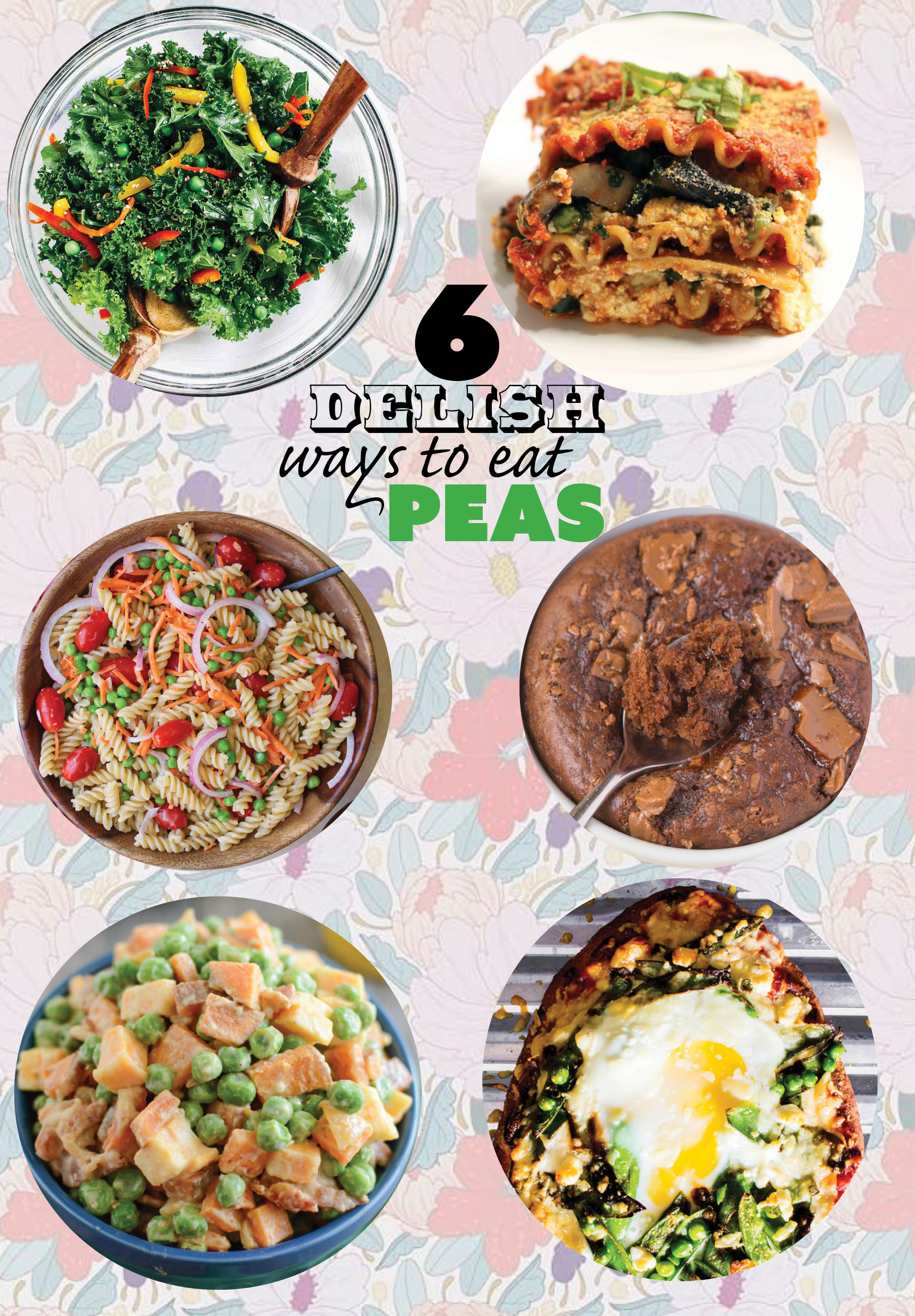 6 delish ways to eat PEAS! | immaEATthat.com