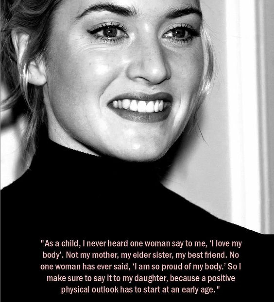 Kate Winslet Wisdom | immaEATthat.com