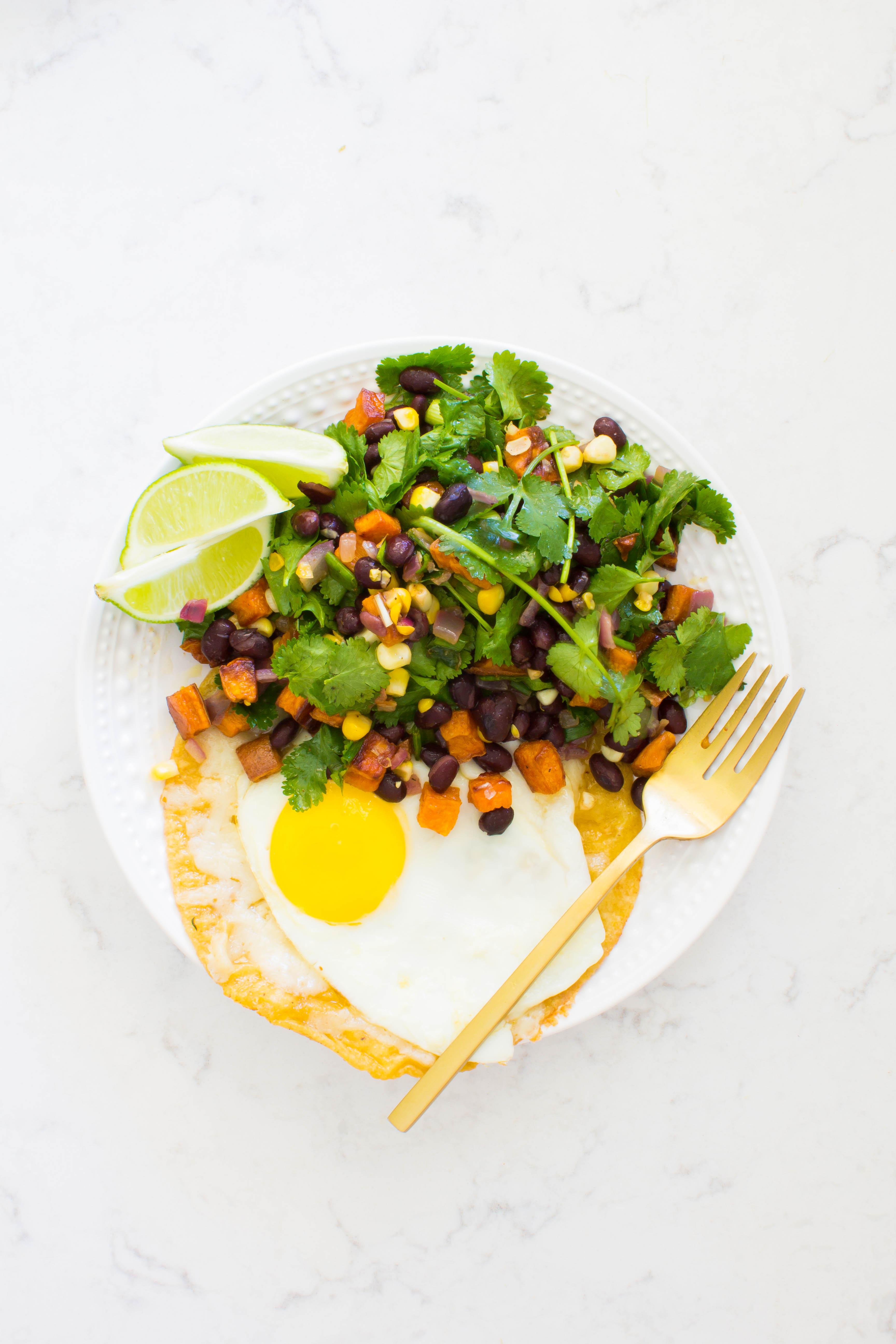 mexican brunch salad | immaEATthat.com
