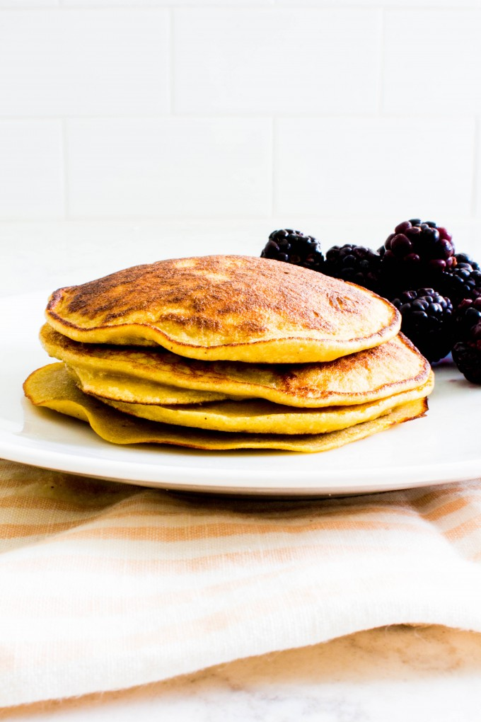 the best coconut flour pancakes | immaEATthat.com