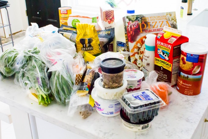 grocery shopping for the week | immaEATthat.com