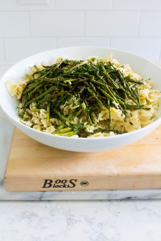 roasted summer veggie pasta salad | immaEATthat.com