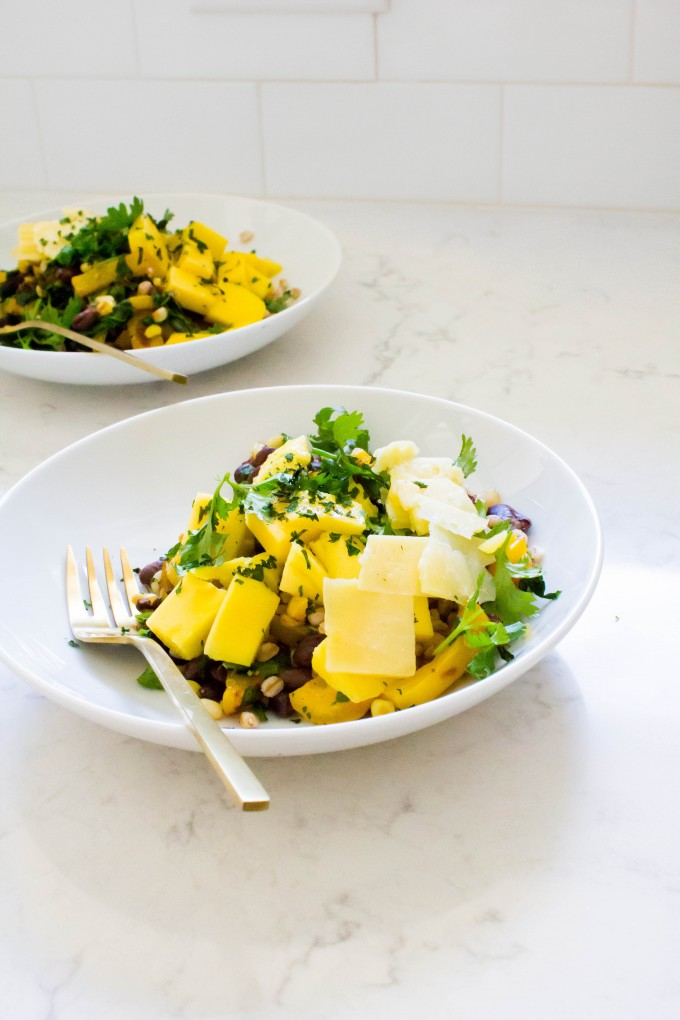 farro bowl for lunch | immaEATthat.com