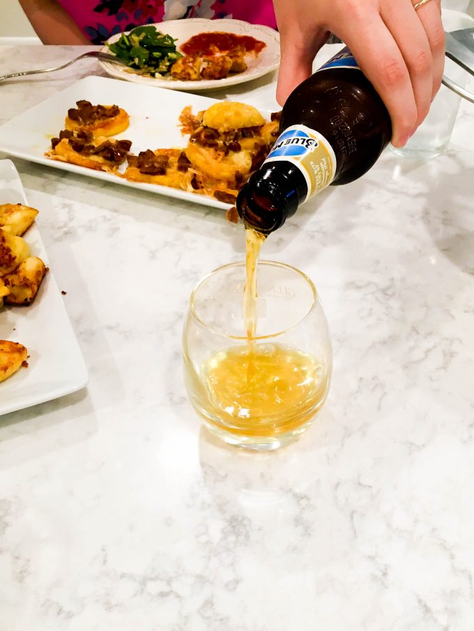 Fun double date idea...at home beer tasting | immaEATthat.com
