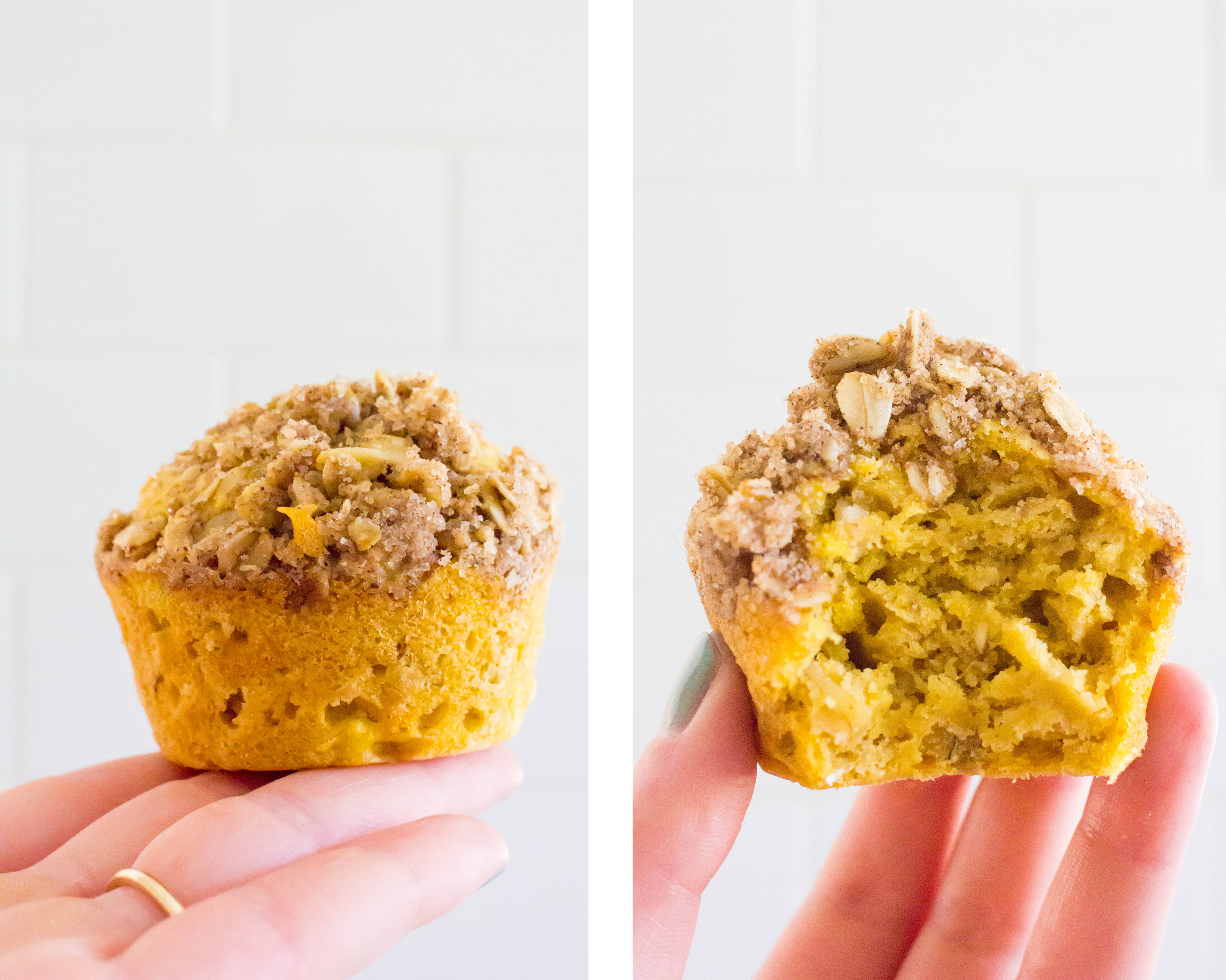 time for some fall baking!!! Pumpkin oatmeal muffins with snickerdoodle streusel | immaEATthat.com