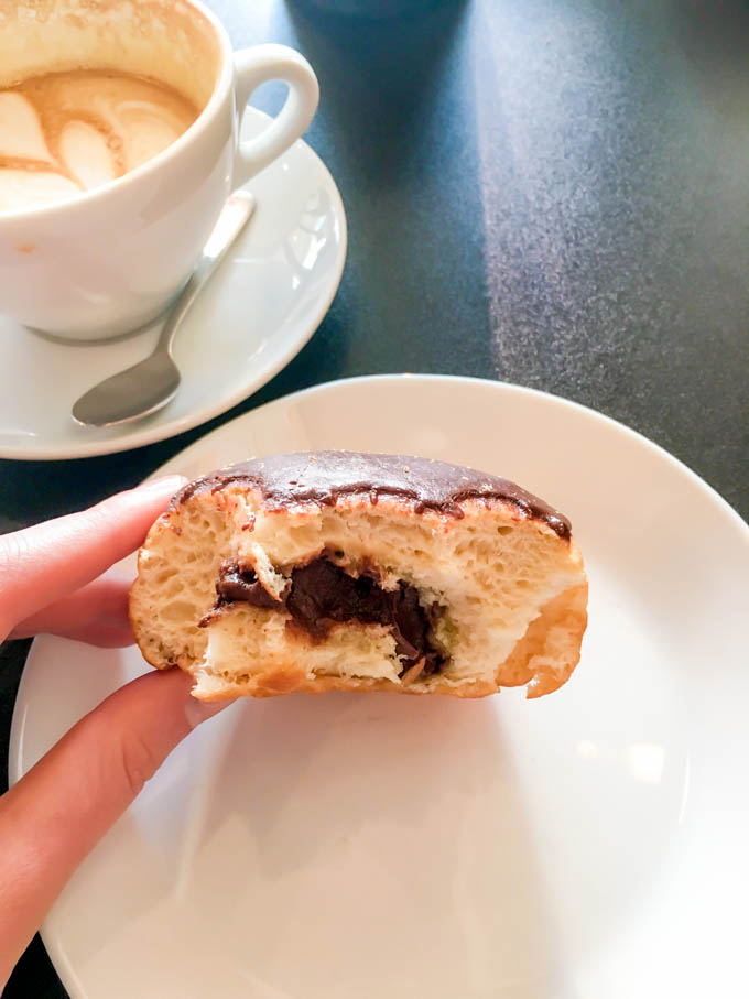 Nutellla donut. Weekend fun at Morningstar in Houston, TX | immaEATthat.com