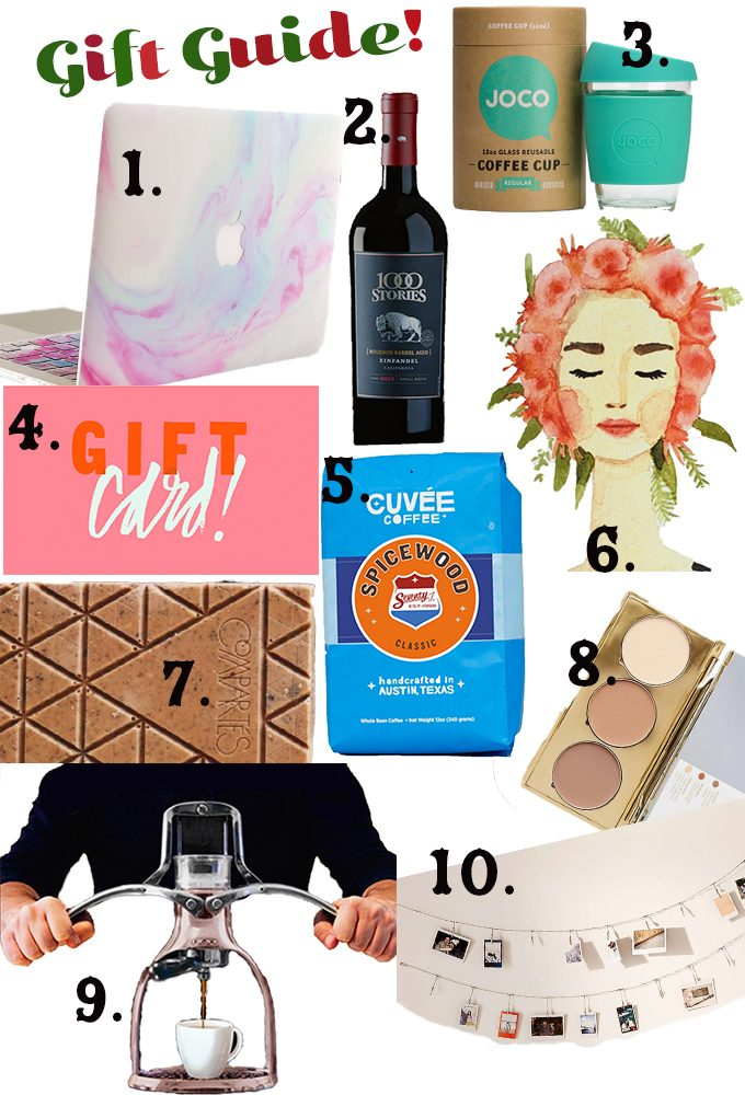 Christmas gift guide 2016 | immaEATthat.com