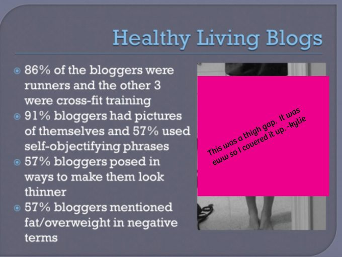 """A note about """"healthy"""" living bloggers  – Yeah…Immaeatthat"""