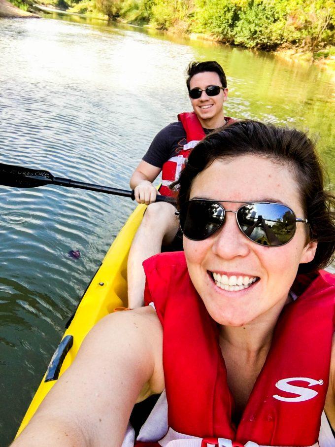 kayak adventure | immaEATthat.com