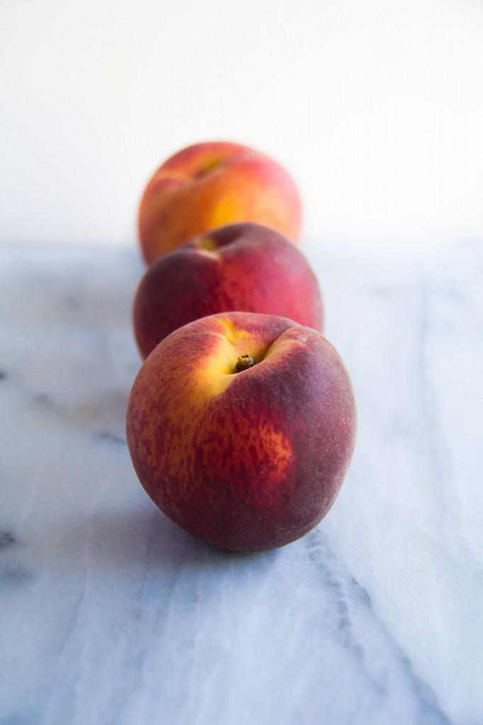 Roasted Peach Crumble