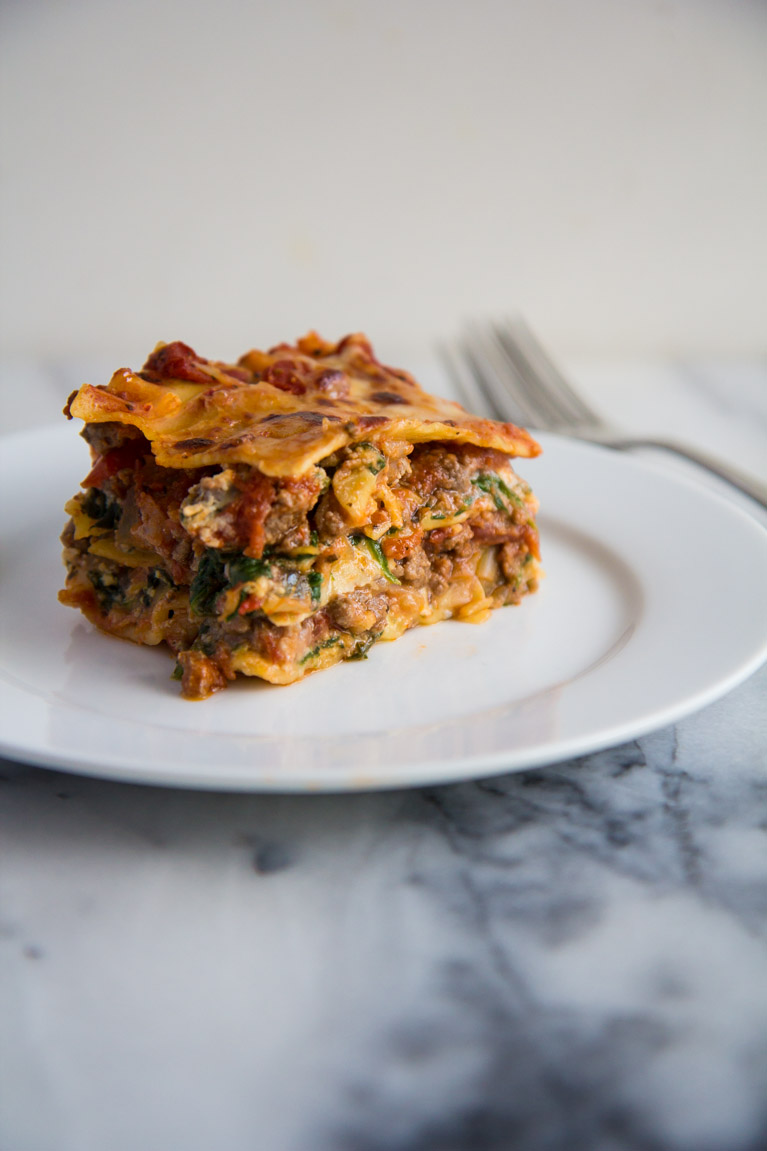 Tomato & Spinach Lasagna | Yeah...immaeatthat