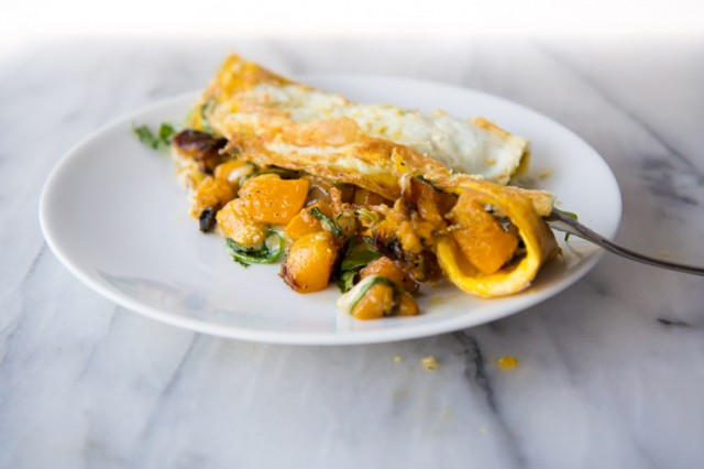 Butternut Squash Omelet-6
