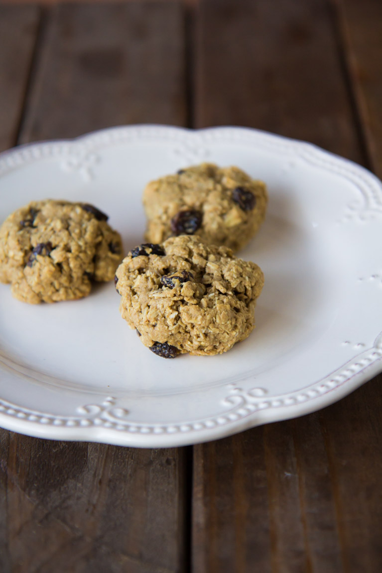 Healthy Oatmeal Cookies-5