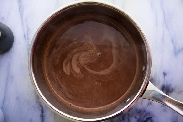 Creamy Red Wine Hot Chocolate | Yeah...immaeatthat