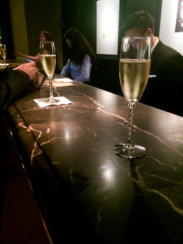 Complimentary Champagne at Hotel Zaza<3!