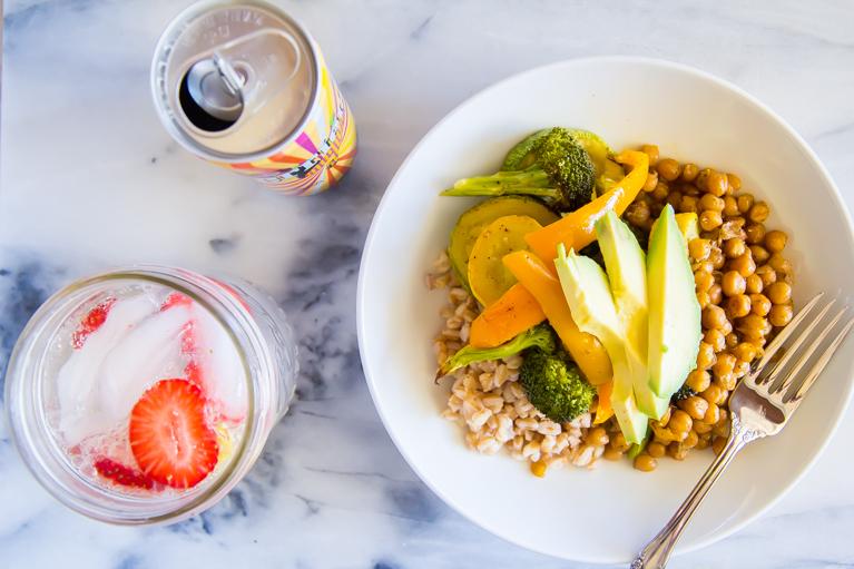 farro veggie bowls-2