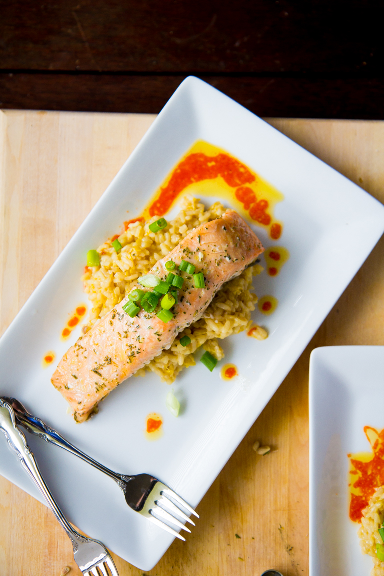 Slow baked salmon...quite possible the best way to cook salmon!