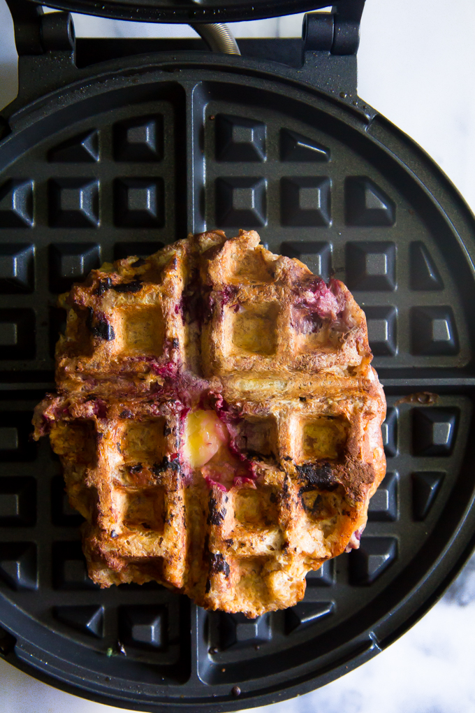 French Toast Waffle Sandwiches \\ immaEATthat