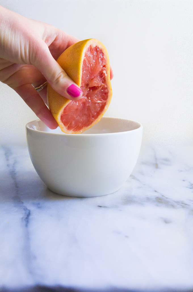 Mini Hummingbird Cake + Grapefruit Icing \\ immaEATthat #ad