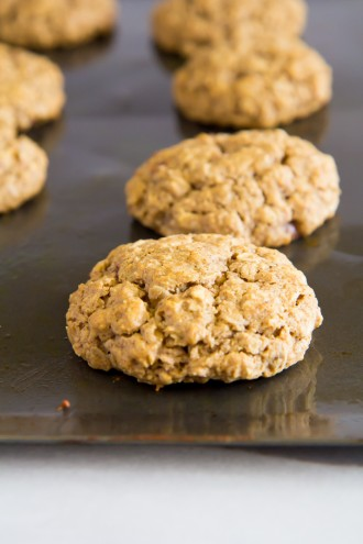 brown butter oatmeal cookies stuffed with nutella-8
