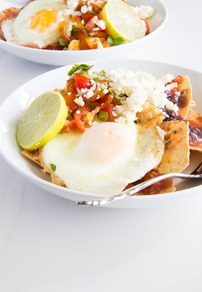 Crispy Cheese Chilaquiles \\ immaEATthat