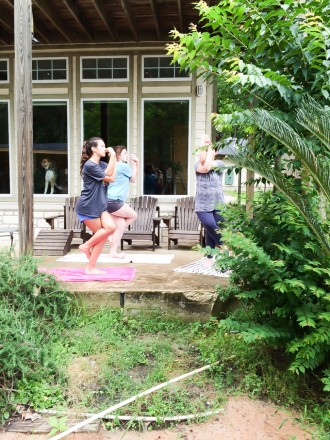 yoga with the sisters