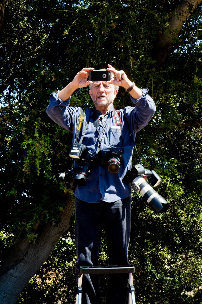 Photographer Robert Durell