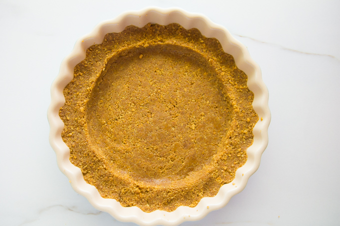 No-bake Graham Cracker Crust \\ immaEATthat