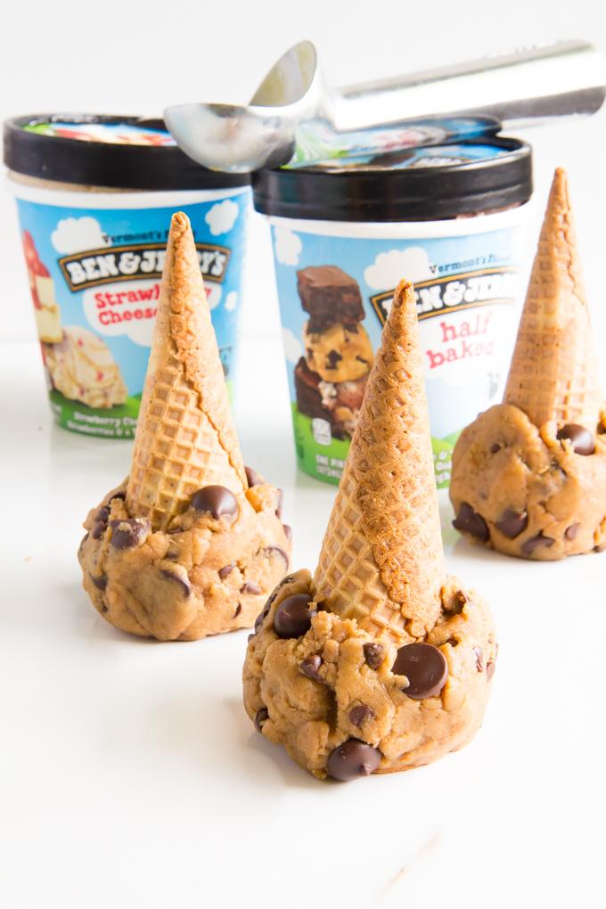 cookie dough ice cream cones \\ immaEATthat