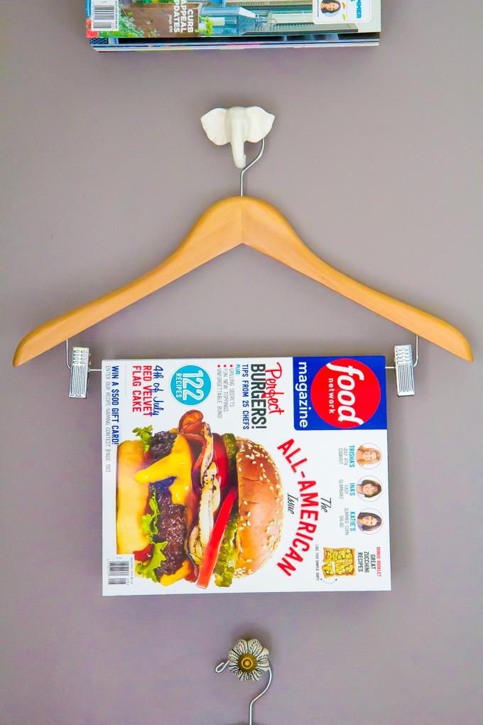 DIY magazine storage \\ immaEATthat.com