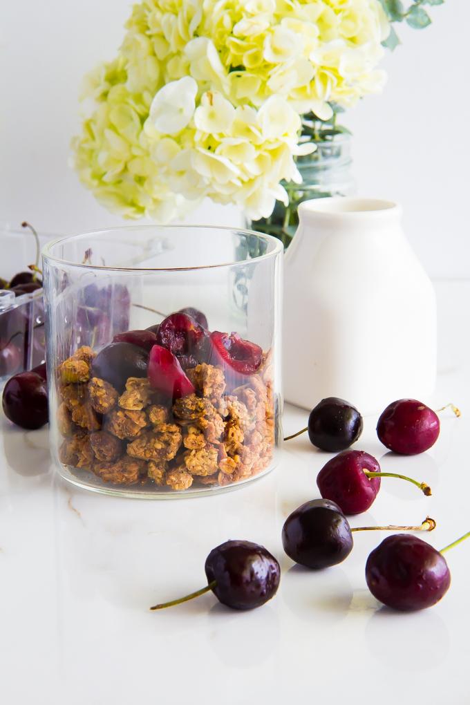 pistachio & hemp granola \\ immaEATthat.com