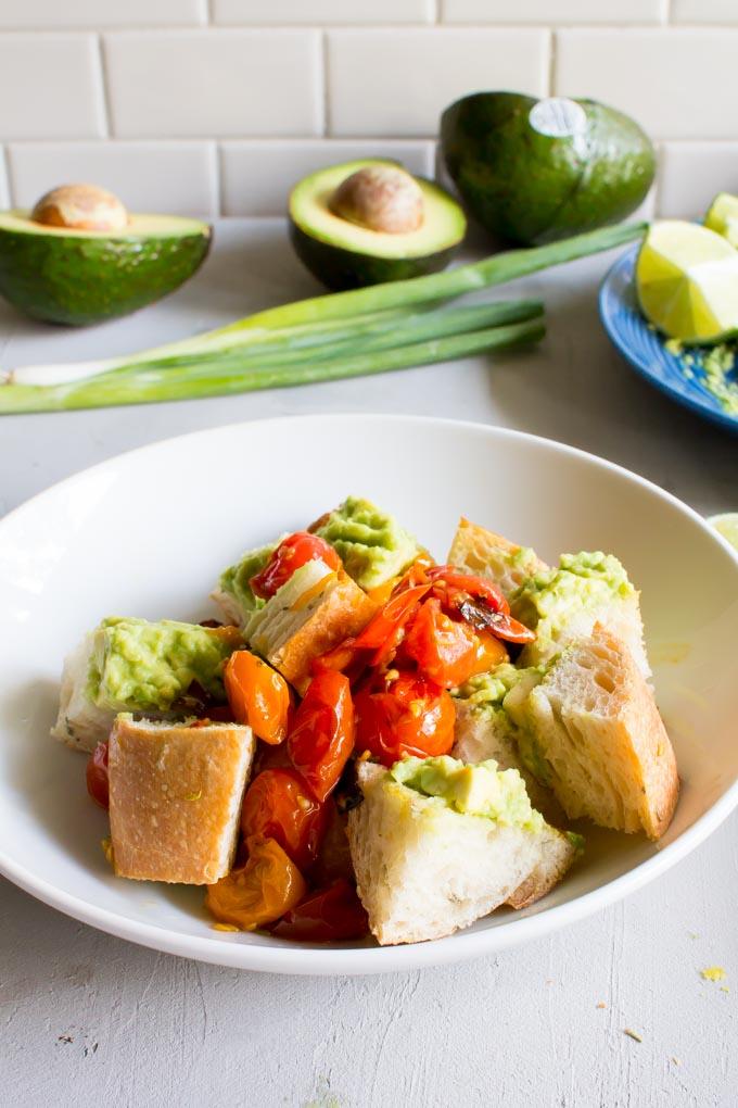 Avocado Toast Salad   immaEATthat.com
