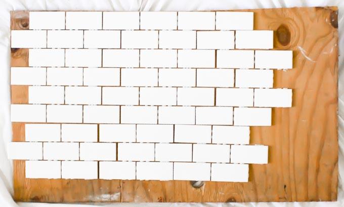 subway tile backsplash backdrop | immaEATthat.com