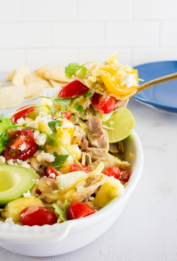 chilaquiles for two | immaEATthat.com
