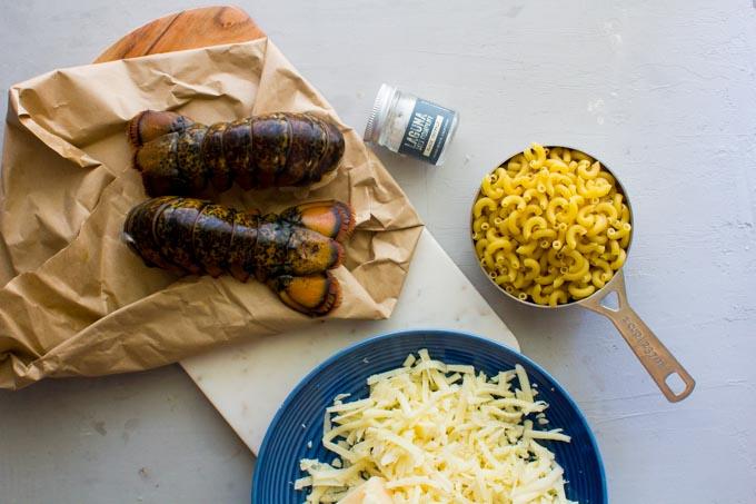 truffle lobster greek yogurt mac and cheese | immaEATthat.com