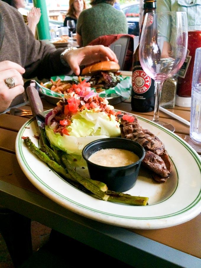 steak wedge in pittsburg | immaEATthat.com