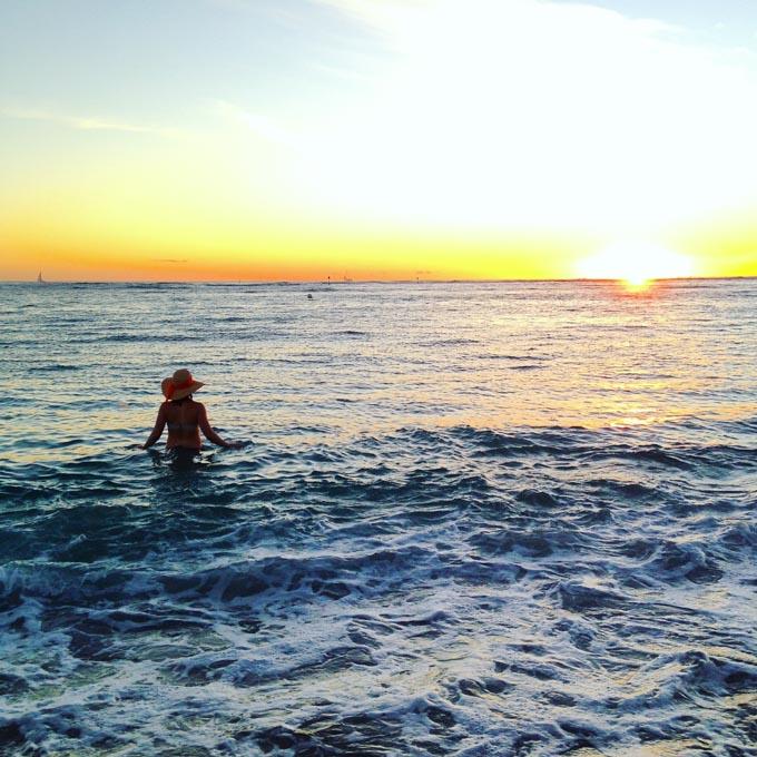 Waikiki Beach, Oahu | immaEATthat.com