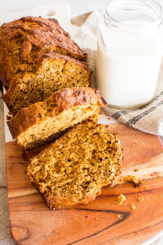 gingerbread banana bread | immaEATthat.com