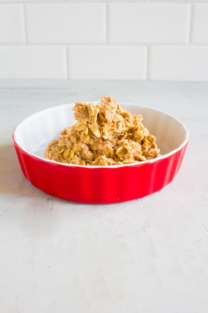 single serving oatmeal breakfast cookie | immaEATthat.com