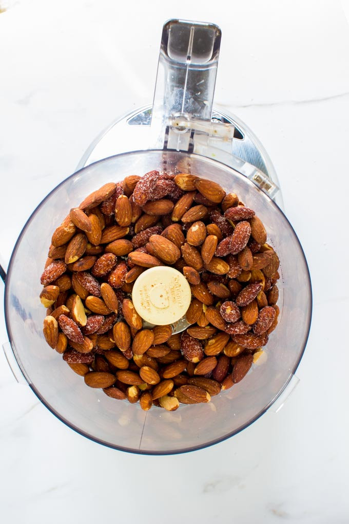 dark chocolate honey roasted almond butter | immaEATthat.com