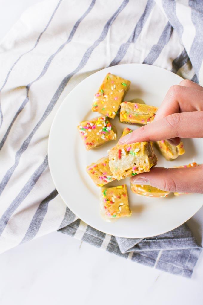 cookie dough banana-ice cream sandwiches | immaEATthat.com