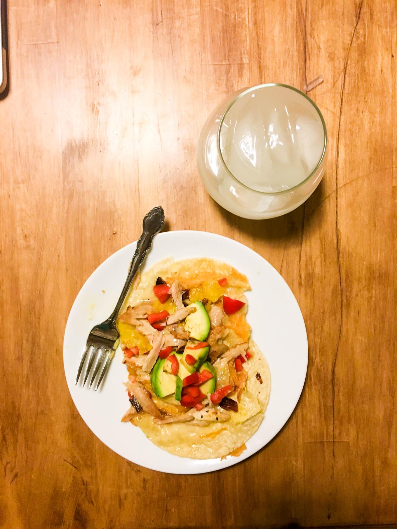 open-faced quesadilla | immaEATthat.com