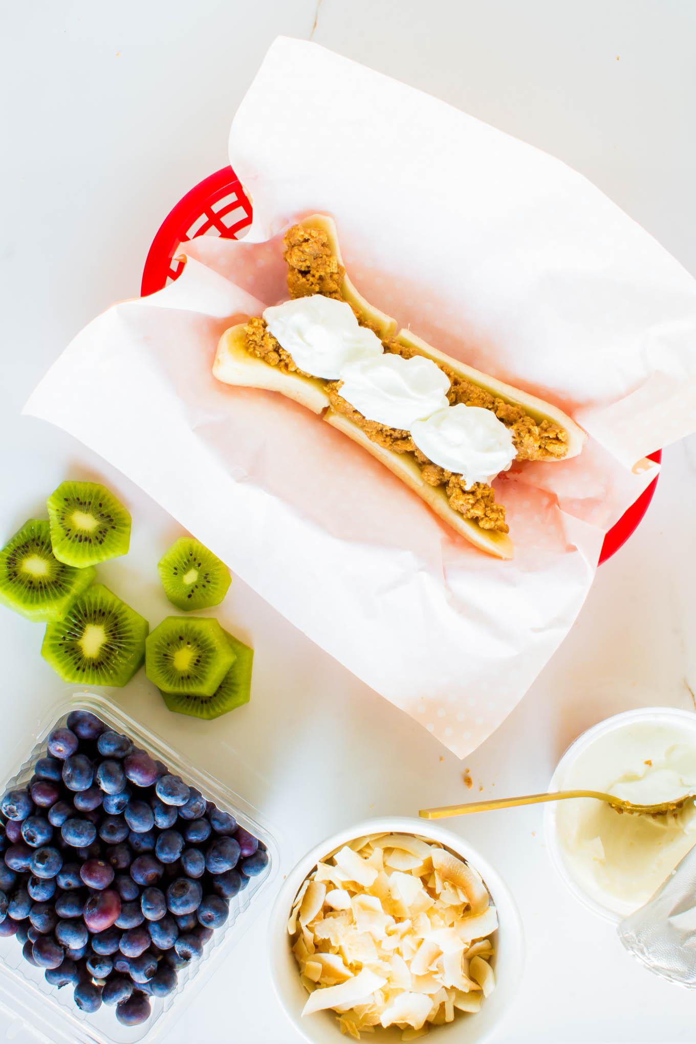breakfast banana splits | immaEATthat.com