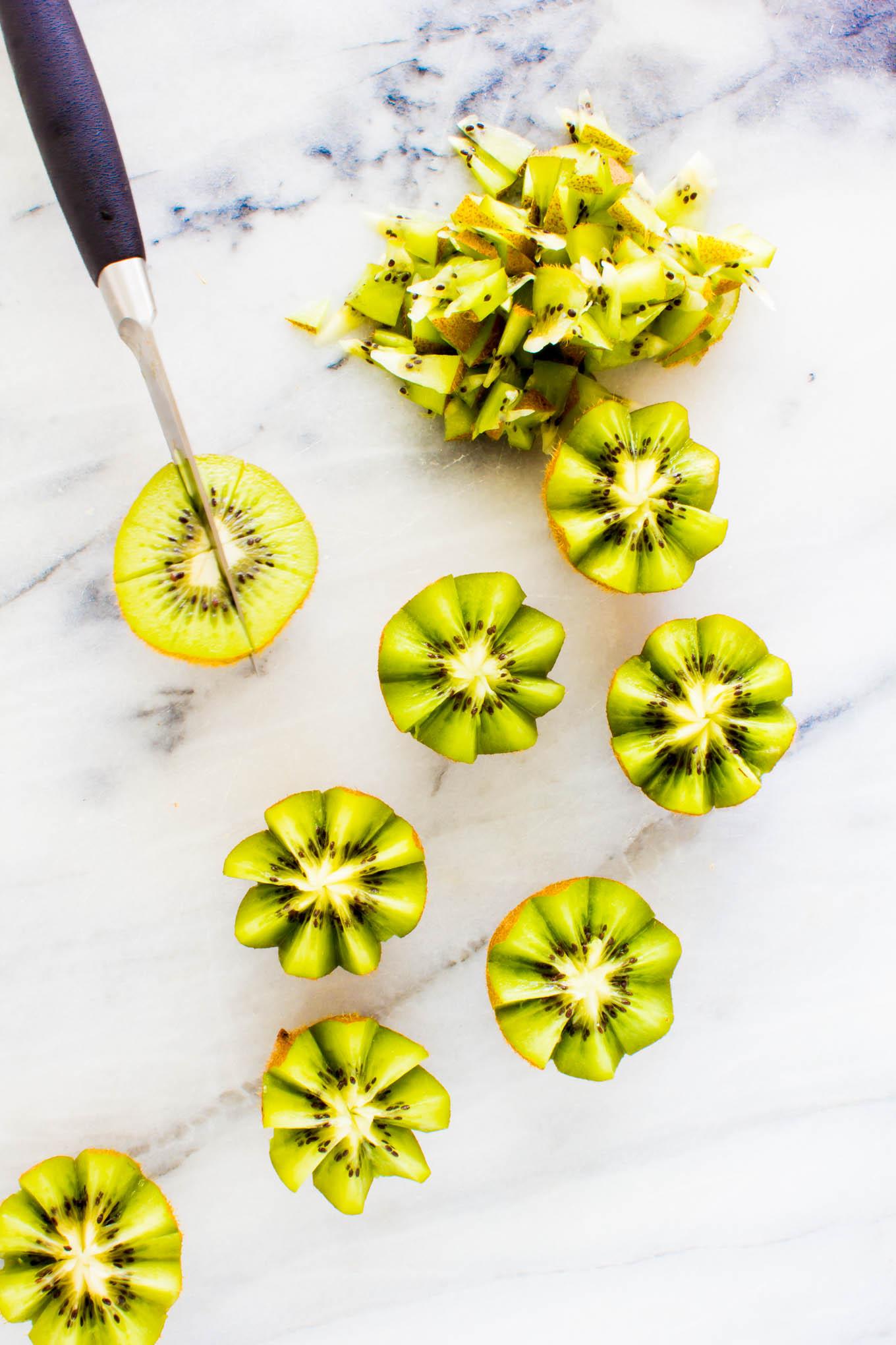 kiwi caprese salad with avocado roses   immaEATther