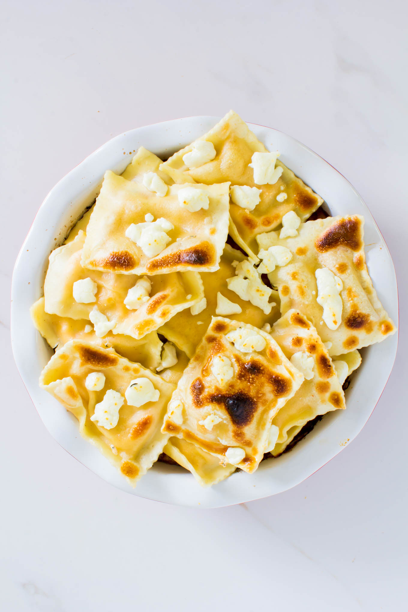 ravioli frittata | immaEATthat.com