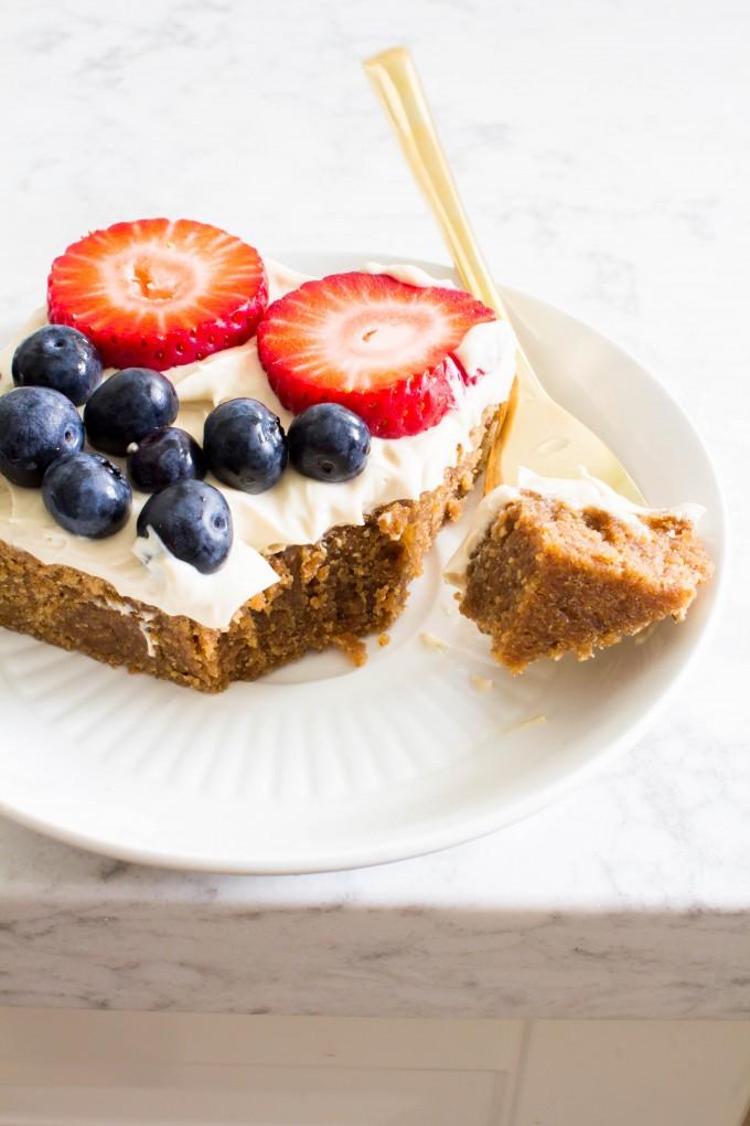 almond butter bars | immaEATthat.com